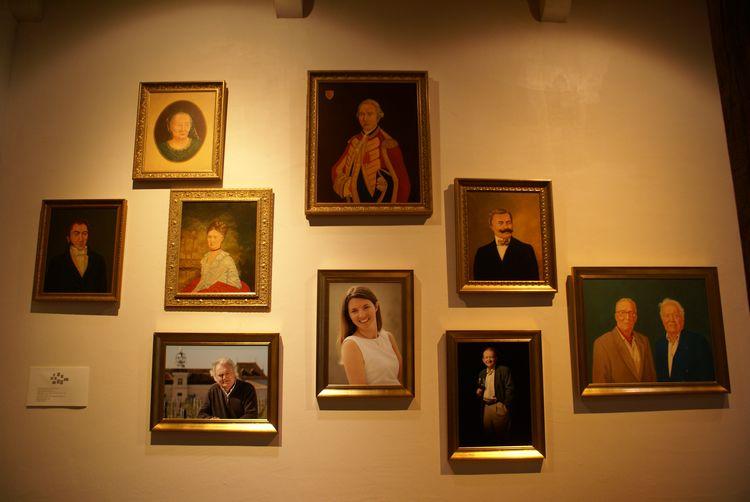 Les différents propriétaires de la famille depuis 1782