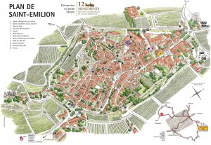 Plan de Saint Emilion